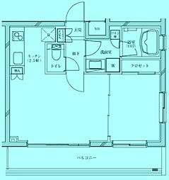 ダイナシティ宮前平[1階]の間取り