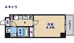FDS住吉公園[6階]の間取り