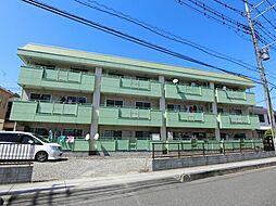 埼玉県草加市稲荷5丁目の賃貸マンションの外観
