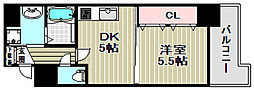 宿院西TKハイツ2号館[7階]の間取り