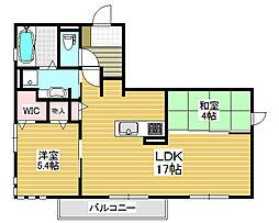 ルナピエーナ[3階]の間取り