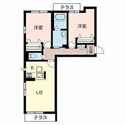 ソラーナ堺東[3階]の間取り