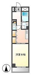 メゾンラフィネ2[4階]の間取り