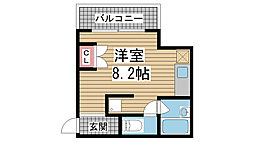 永光ビルディング[2階]の間取り