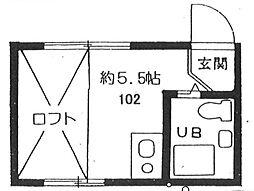 富士見台駅 3.8万円