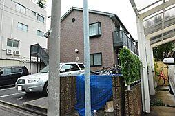 愛知県名古屋市中川区尾頭橋2の賃貸アパートの外観