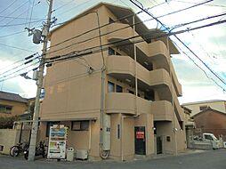 大阪府大阪市東住吉区湯里1の賃貸マンションの外観