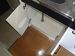 ワコーレ東山のキッチン下部収納