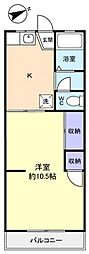 Hamanoハウス[2階]の間取り