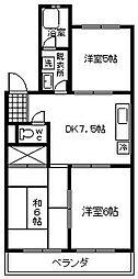 藤ハイツI 刈谷市住吉町[1階]の間取り