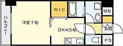 サンルーヴル[2階]の間取り