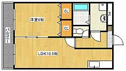 セレンディピティ[5階]の間取り