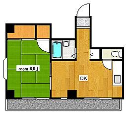 第3東和ビル[601号室]の間取り