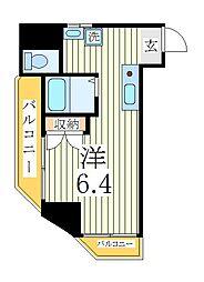 ペルレシュロスPartVIII[1階]の間取り