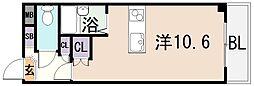リュミエールイースト[3階]の間取り