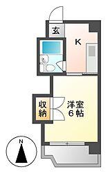 S・T宝生[1階]の間取り