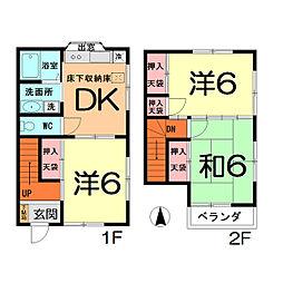 [テラスハウス] 埼玉県さいたま市北区奈良町 の賃貸【/】の間取り