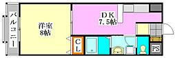 ジョイキャッスル[2階]の間取り