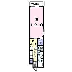 メゾン ド ホーク[2階]の間取り