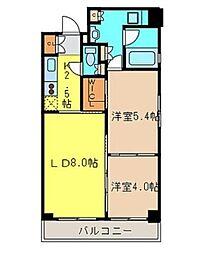 レジディア浅草橋[10階]の間取り