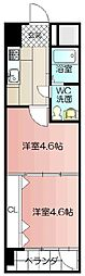 PROJECT2100小倉駅[1308号室]の間取り