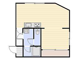 イーストハイツ[2階]の間取り