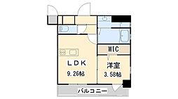 ザ.ヒルズ小倉[305号室]の間取り