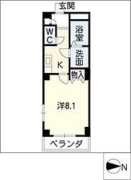 第2福谷ビル[1階]の間取り