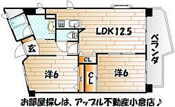 ピュアライフビル[4階]の間取り