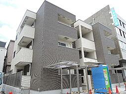 大阪府大阪市東住吉区桑津1丁目の賃貸アパートの外観