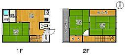 大木アパート[5号室]の間取り