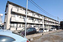 埼玉県越谷市赤山町5丁目の賃貸アパートの外観