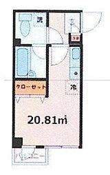 テック西ヶ原[1階]の間取り
