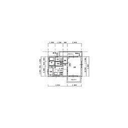 柏木 新築マンション 3階1Kの間取り