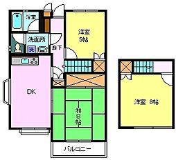 シンセア富士[403号室]の間取り