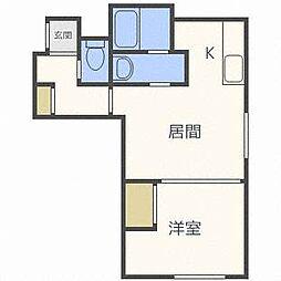 ドルチェ24[3階]の間取り