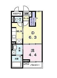 メゾン・プランドール[2階]の間取り