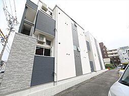 愛知県名古屋市昭和区滝子通4丁目の賃貸アパートの外観