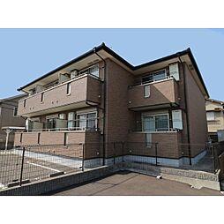 奈良県奈良市宝来2丁目の賃貸アパートの外観