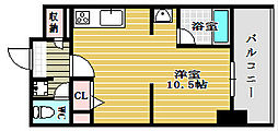 KDX堺筋本町レジデンス[7階]の間取り