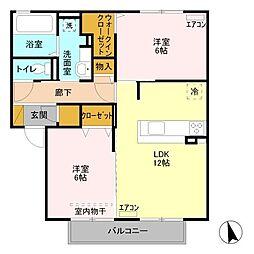 パンセ[2階]の間取り