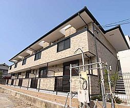 京都府京都市伏見区深草大亀谷西寺町の賃貸アパートの外観