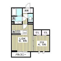 高島平1丁目68新築(未定)[3階]の間取り