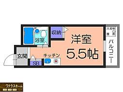 プリマベーラ堺東[4階]の間取り
