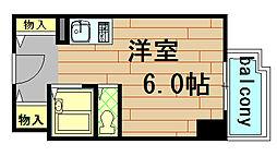 エルベロワイヤル16[13階]の間取り