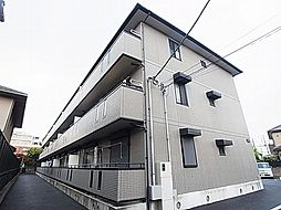 千葉県流山市大字鰭ケ崎の賃貸アパートの外観
