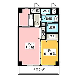 MG・名佳苑[2階]の間取り