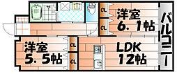 リード大手町[6階]の間取り