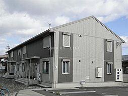 滋賀県大津市見世2丁目の賃貸アパートの外観