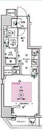 フェルクルールプレスト文京湯島[3階]の間取り